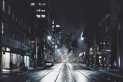 Street outdoor lighting city picture.