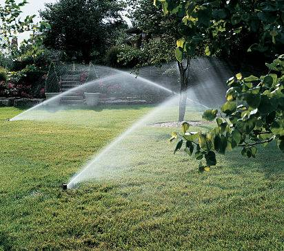 Sprinkler set up - troubleshoot your irrigation system.