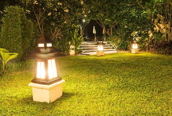 Custom Outdoor Lighting Backyard Landscape Patio Garden