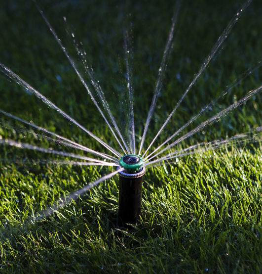 Sprinkler installation cost depends on various factors.