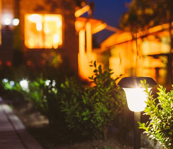 American National Sprinkler & Lighting offers landscape lighting services - garden lighting.