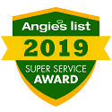 Angie's List Super Service Award 2019 for American National Sprinkler & Lighting.